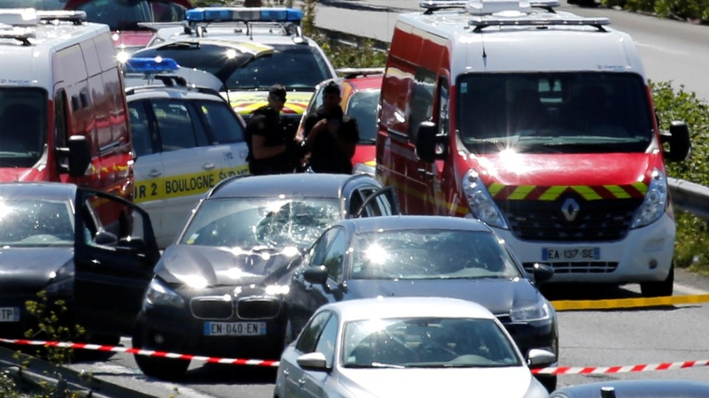 Man arrested after Paris vehicle attack