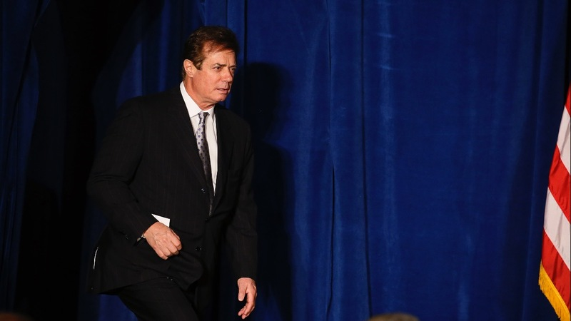 FBI raided home of Trump's ex-campaign chairman