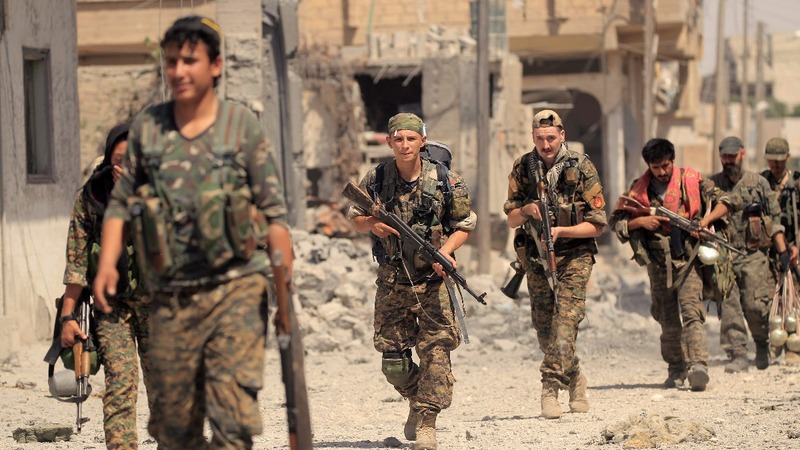 Syrian Kurd commander sees long battle in Raqqa