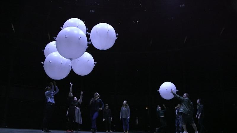 Autonomous spheres: London's new art installation