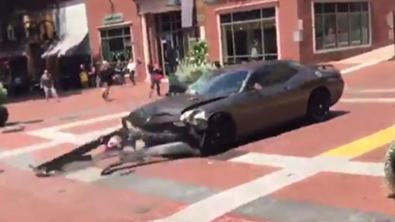 Deadly crash caps violent white supremacist rally