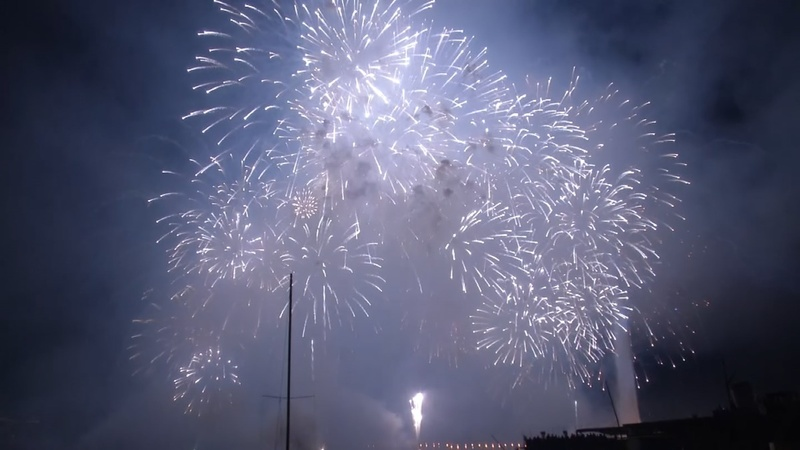 INSIGHT: Annual fireworks display lights up Geneva