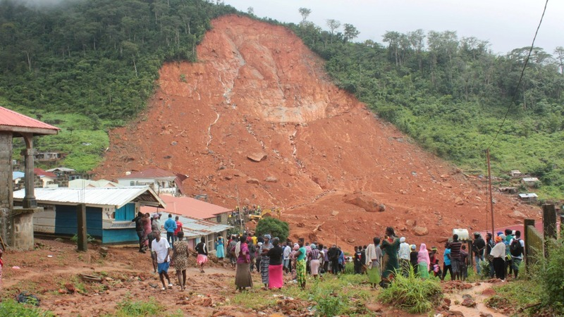 Nearly 400 bodies recovered from Sierra Leone mudslide