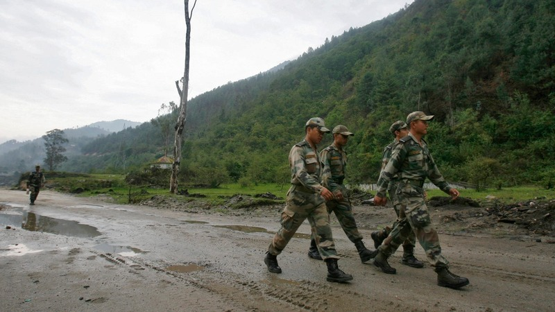 Indian and Chinese troops clash at the border: reports