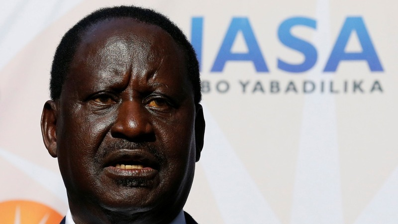 Kenya's Odinga to go to court over disputed election