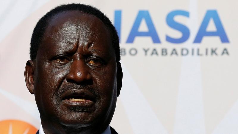 Kenya's Odinga to go to court over disputed election