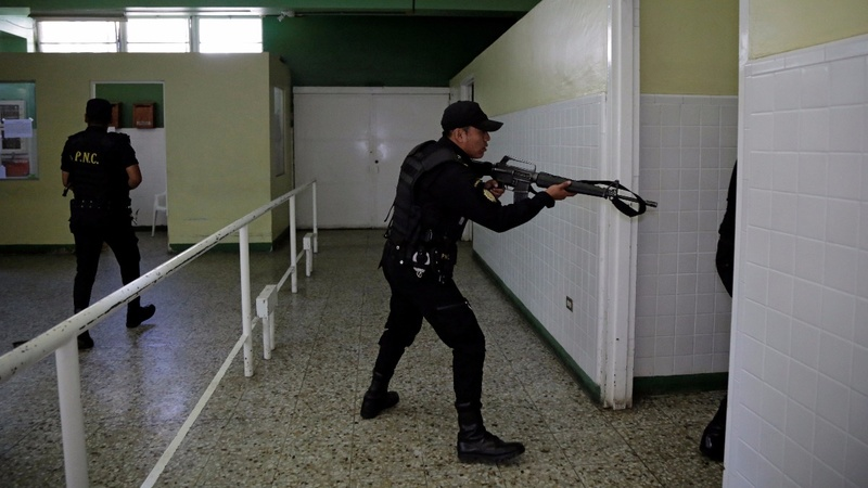 Several killed in gang attack at a Guatemala hospital