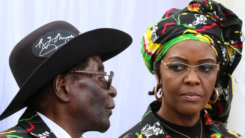 S. Africa border alert to stop Grace Mugabe fleeing