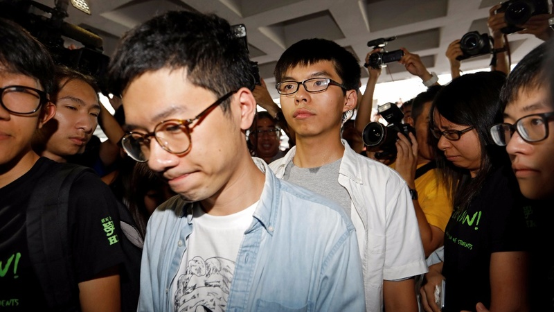 Hong Kong democracy leader jailed for 6 months