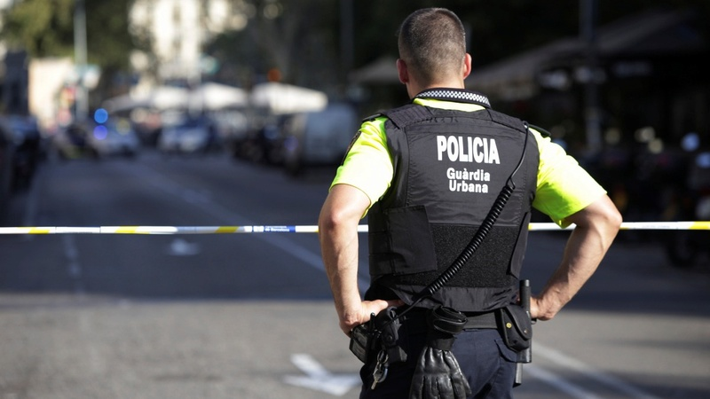 Several killed after van hits crowd in Barcelona