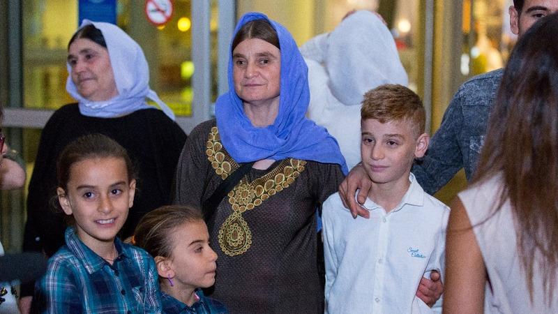 Yazidi boy reunites with mother in Winnipeg