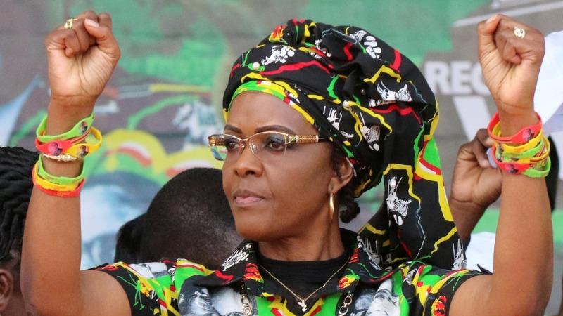 Grace Mugabe to be given immunity - SA govt source
