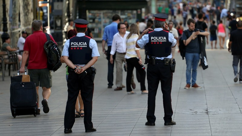Tourists defiant after Barcelona attack
