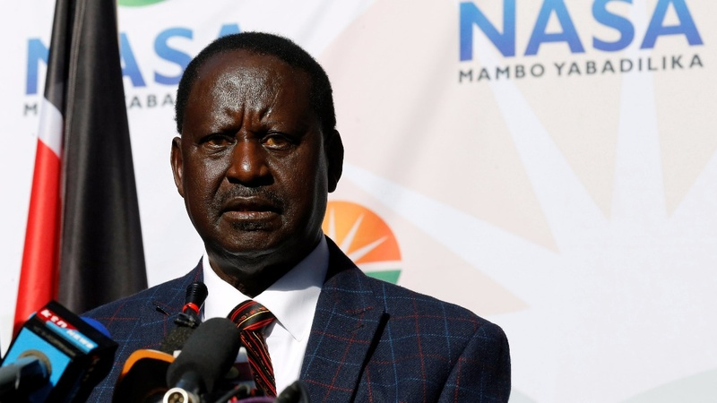 Kenya's opposition takes legal action against election results.