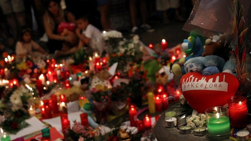INSIGHT: Vigil held for Barcelona attack victims