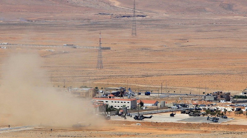 Lebanese army attacks ISIS along Syrian border.