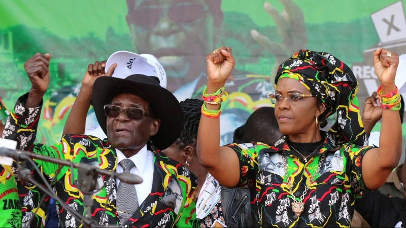 South Africa grants Grace Mugabe immunity