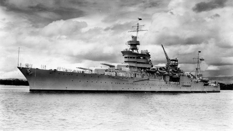 Famed U.S. warship sunk in WWII located in Pacific