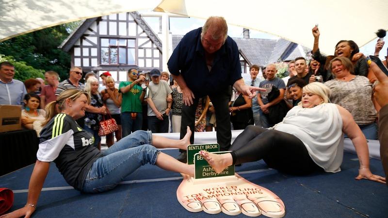 INSIGHT: British toe wrestler wins another world title