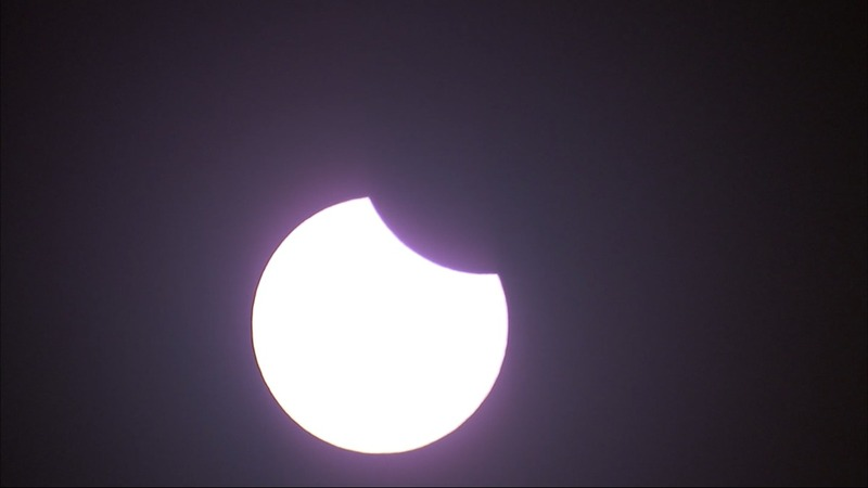 INSIGHT: Solar eclipse begins over west coast
