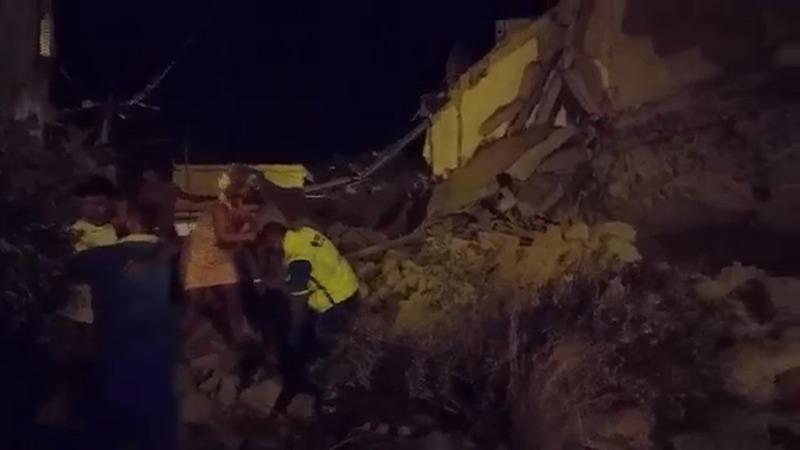 Quake hits Italian island, two dead, 25 injured