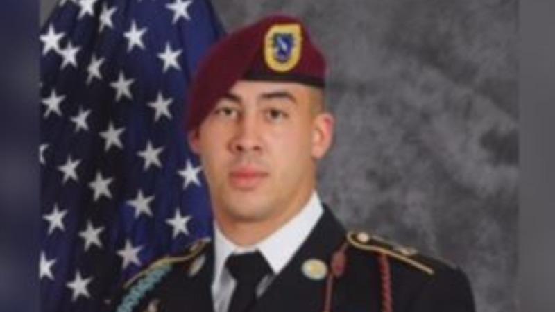 U.S. soldier killed in Afghanistan returns home