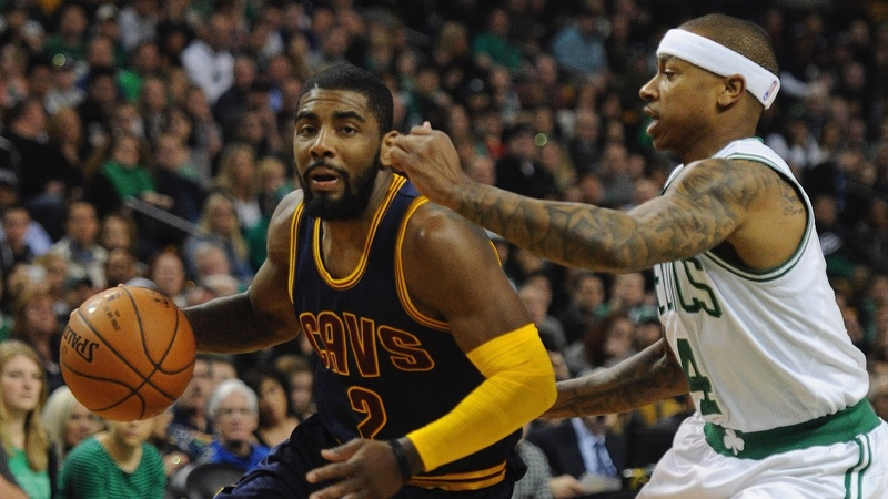 Irving out from under LeBron in Cavs-Celtics swap