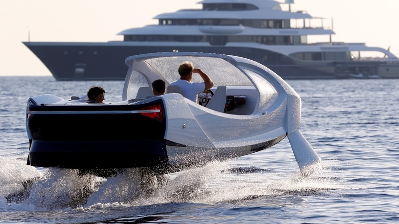Flying water taxis in Macron's 'not-so startup' nation
