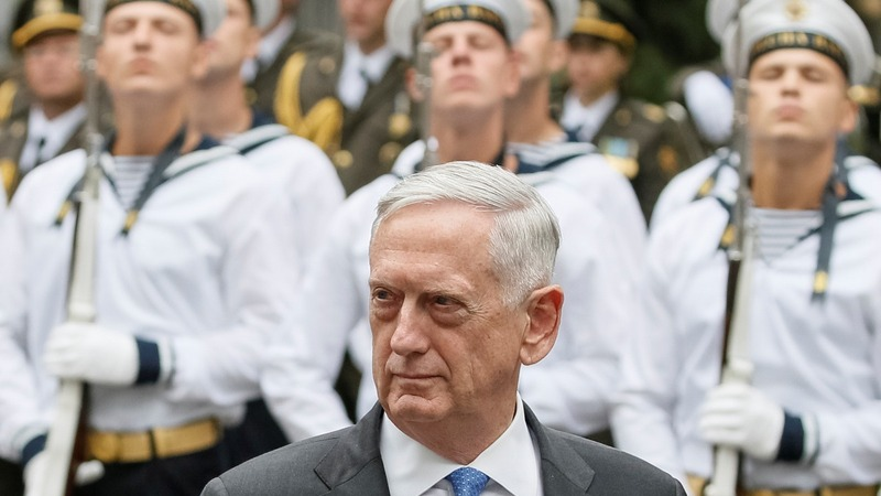 Mattis in Ukraine: Still weighing lethal weapons aid