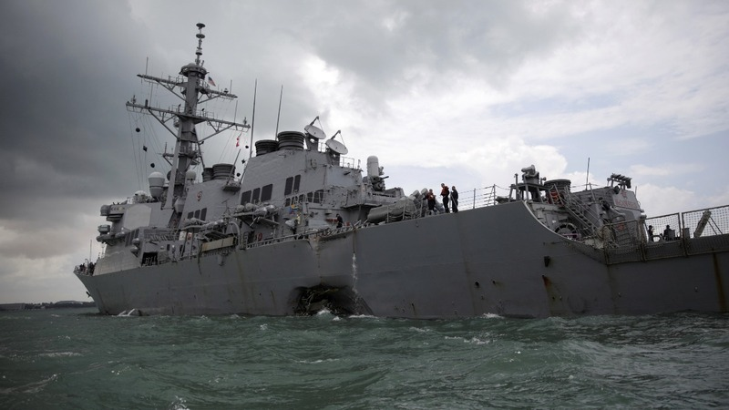 Navy suspends sea search for missing sailors