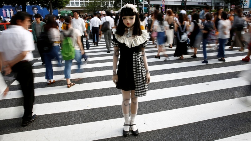 INSIGHT: Meet Japan's 'living doll'