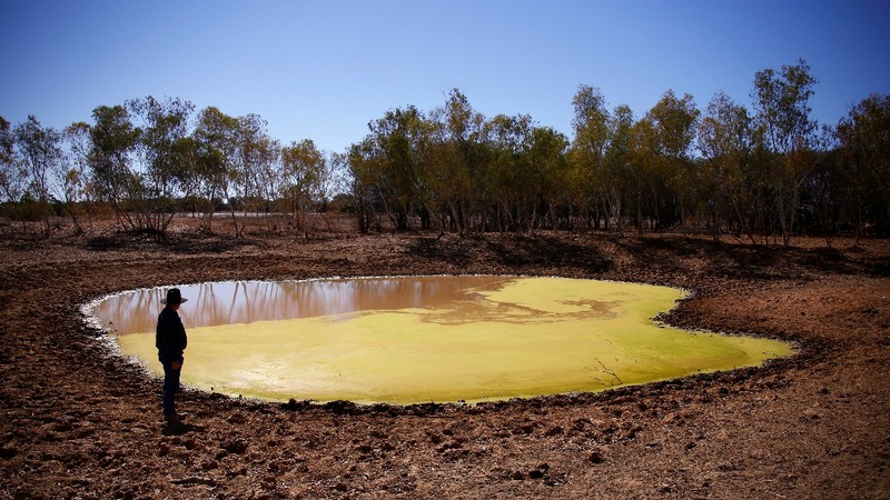 Australia's Outback struggles from years of drought