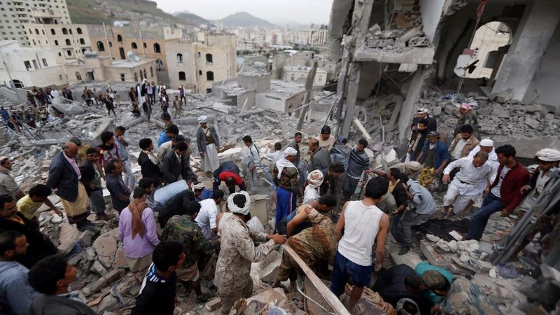 Children among at least 12 dead in Yemen strike