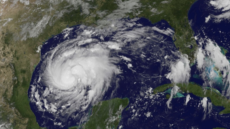 Harvey strengthens into a Category 4 hurricane