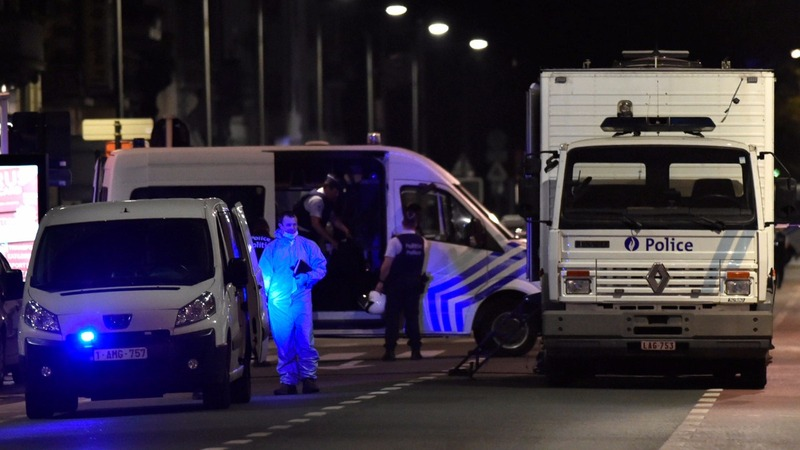 Belgian soldiers fatally shoot knife attacker in Brussels