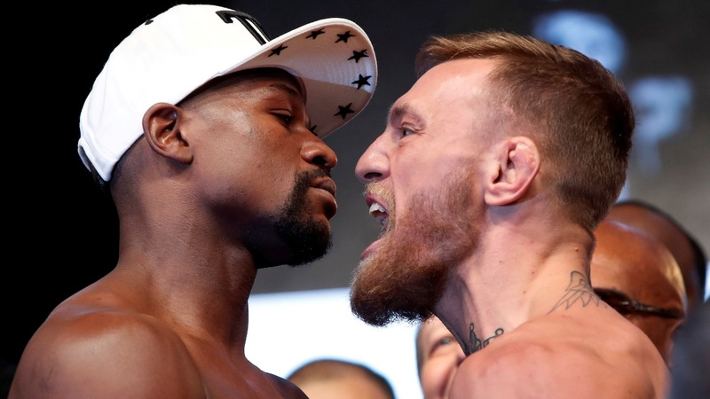 McGregor eyes upset against Mayweather