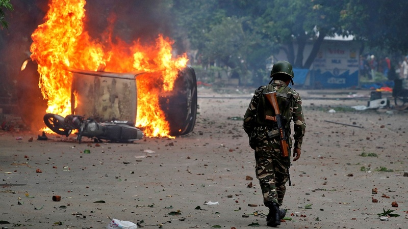 Protests over 'godman' rape conviction in India kills scores