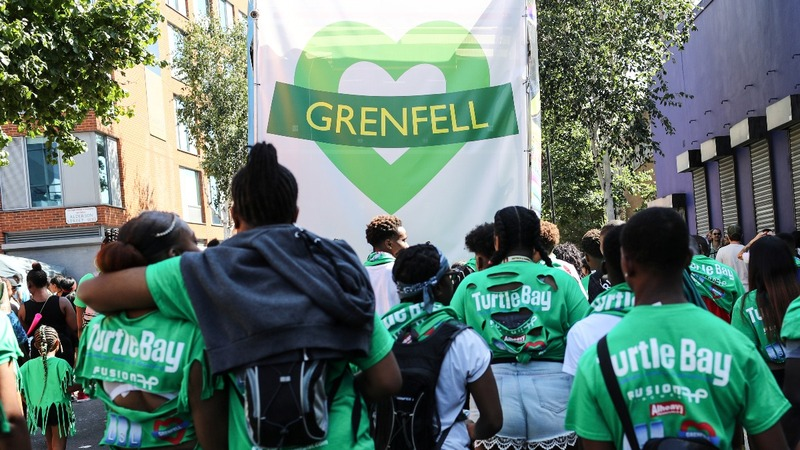 INSIGHT: London fire victims remembered at Notting Hill carnival