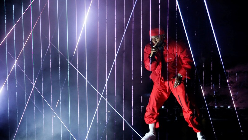 Kendrick Lamar cleans up at MTV awards