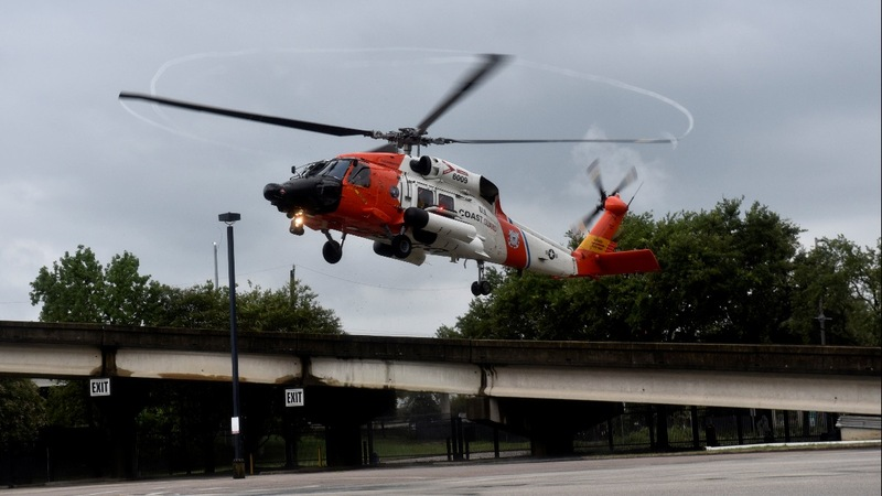 INSIGHT: U.S. Coast Guard hunts for those trapped in Houston