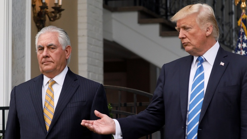 C-ville comments put Tillerson-Trump further at odds
