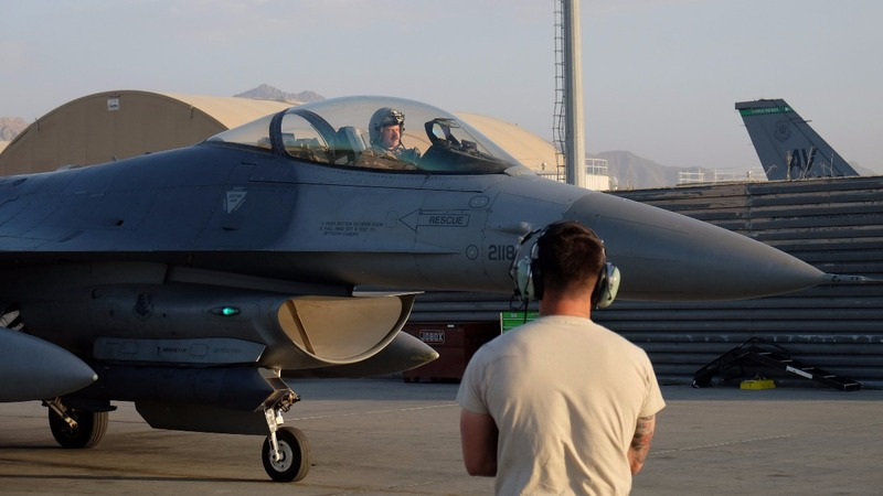 U.S. pilots in Afghanistan brace for more air strikes