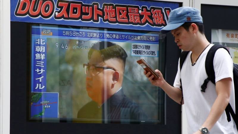 North Korean missile sends markets into tumble