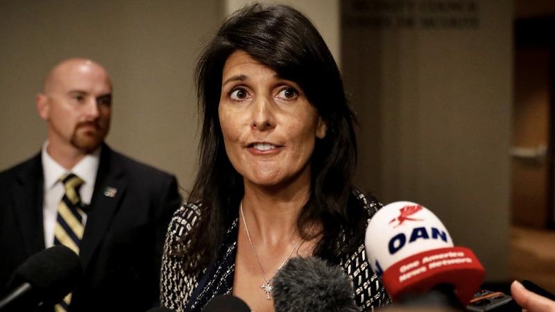VERBATIM: Haley calls North Korean missile launch 'unacceptable'