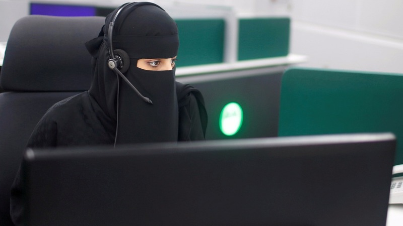 Saudi women take Mecca emergency role