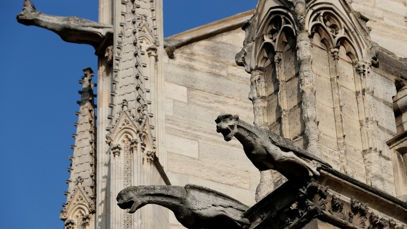 Notre Dame's crumbling gargoyles need help