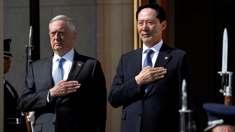 Mattis breaks with Trump on North Korea