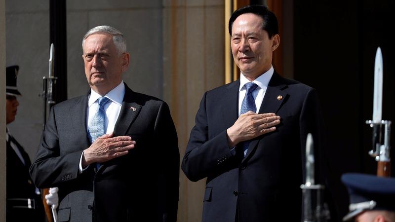 Mattis breaks with Trump on North Korea