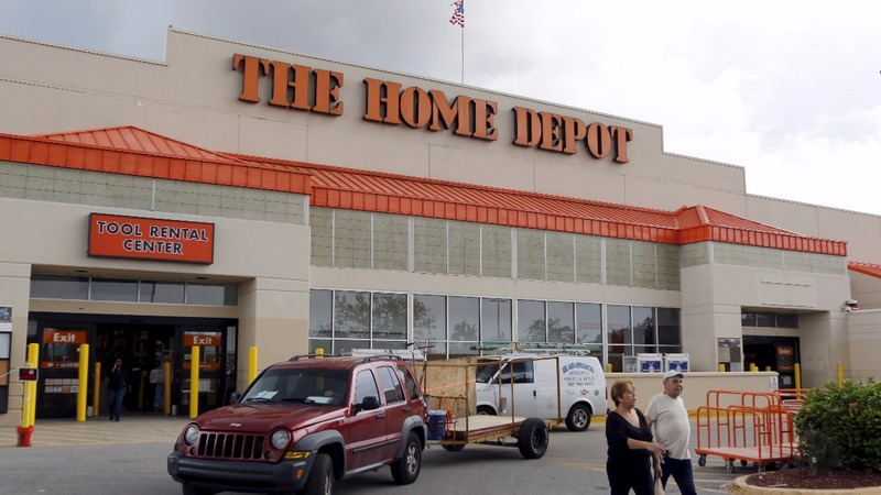 Home Depot's race to respond to Harvey