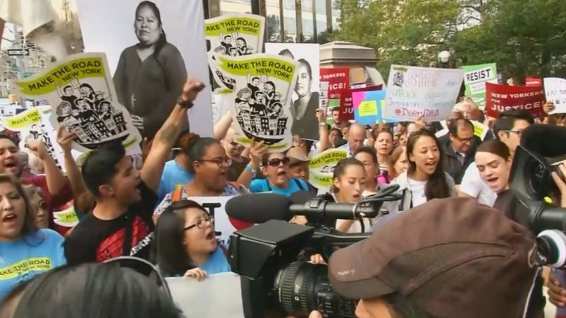 INSIGHT: Pro-immigration rally in New York